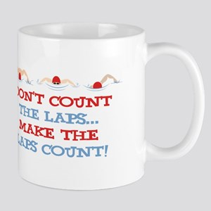 Make Laps Count Mugs