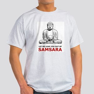 Samsara Ash Grey T-Shirt
