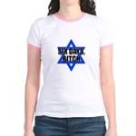 """Six Days, Bitch"" Jr. Ringer T-Shirt"