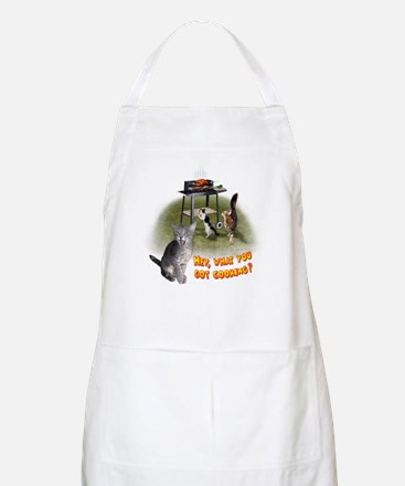 "BBQ Apron ""What you got cooking?"""