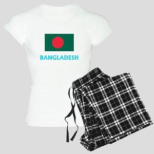 Bangladesh Flag Classic Blue Design Pajamas