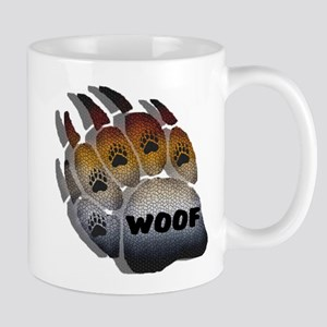 wOOF FURRY BEAR PRIDE PAW Mug