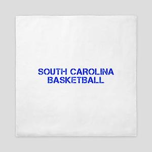 SOUTH CAROLINA basketball-cap blue Queen Duvet