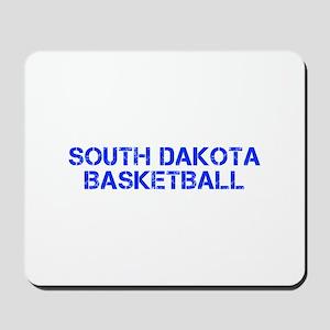 SOUTH DAKOTA basketball-cap blue Mousepad
