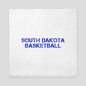 SOUTH DAKOTA basketball-cap blue Queen Duvet