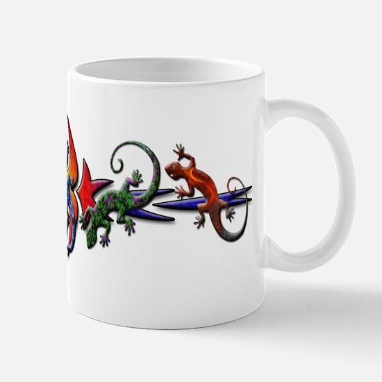 Gecko Banner Mug
