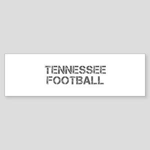 TENNESSEE football-cap gray Bumper Sticker