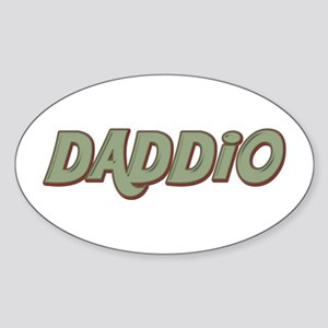 Daddio Oval Sticker