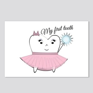 My First Tooth Postcards (Package of 8)