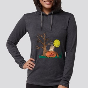 Halloween Pumpkin SharPei Long Sleeve T-Shirt