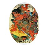 Japanese Oval Ornament