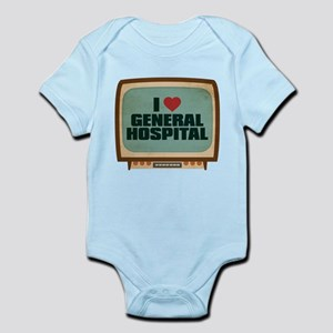 Retro I Heart General Hospital Infant Bodysuit