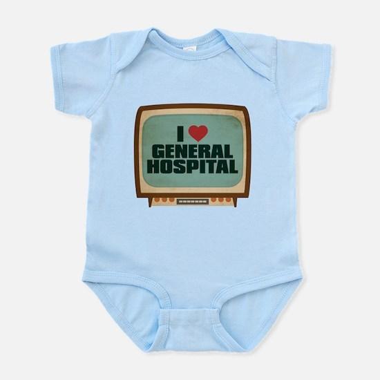 Retro I Heart General Hospital Infant Bodysuit