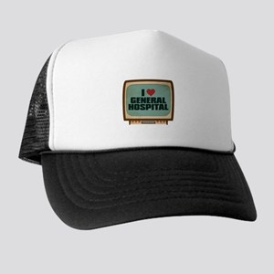 Retro I Heart General Hospital Trucker Hat