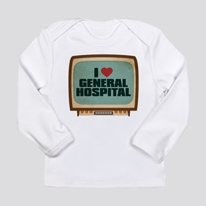 Retro I Heart General Hospital Long Sleeve Infant