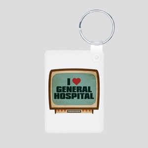Retro I Heart General Hospital Aluminum Photo Keyc