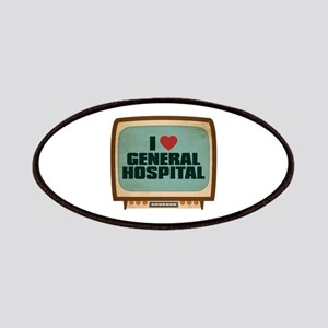 Retro I Heart General Hospital Patches