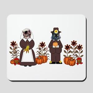Thanksgiving Cats Mousepad