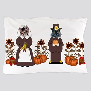 Thanksgiving Cats Pillow Case