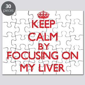Keep Calm by focusing on My Liver Puzzle