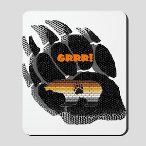 BLACK BEAR PAW/PRIDE BEAR Mousepad