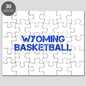 WYOMING basketball-cap blue Puzzle