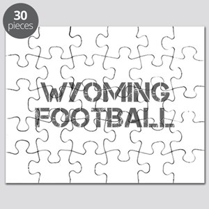 WYOMING football-cap gray Puzzle