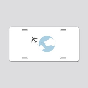Travel The World Aluminum License Plate