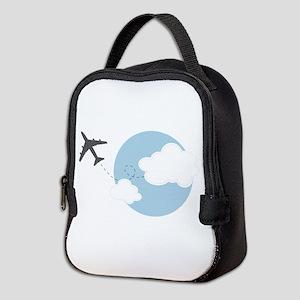 Travel The World Neoprene Lunch Bag