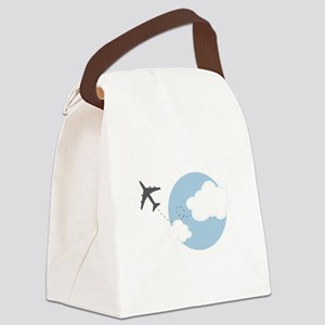 Travel The World Canvas Lunch Bag