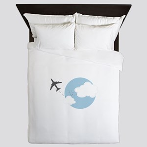Travel The World Queen Duvet