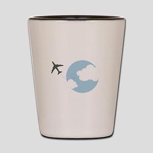 Travel The World Shot Glass