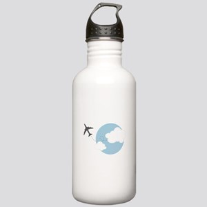Travel The World Water Bottle