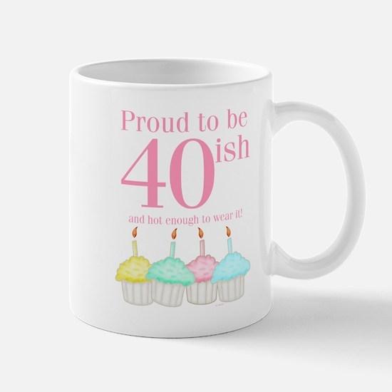 40ish Birthday Mug