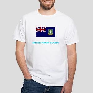 British Virgin Islands Flag Classic Blue D T-Shirt