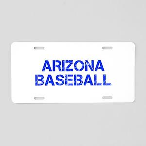 ARIZONA baseball-cap blue Aluminum License Plate
