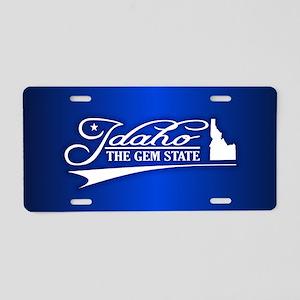 Idaho State of Mine Aluminum License Plate