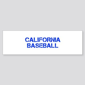 CALIFORNIA baseball-cap blue Bumper Sticker