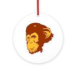 Monkey revolution Ornament (Round)