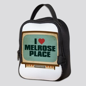 Retro I Heart Melrose Place Neoprene Lunch Bag