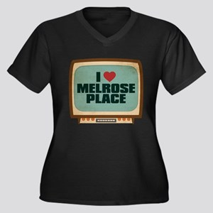 Retro I Heart Melrose Place Women's Dark Plus Size