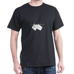 Skeleton on Clothesline Dark T-Shirt