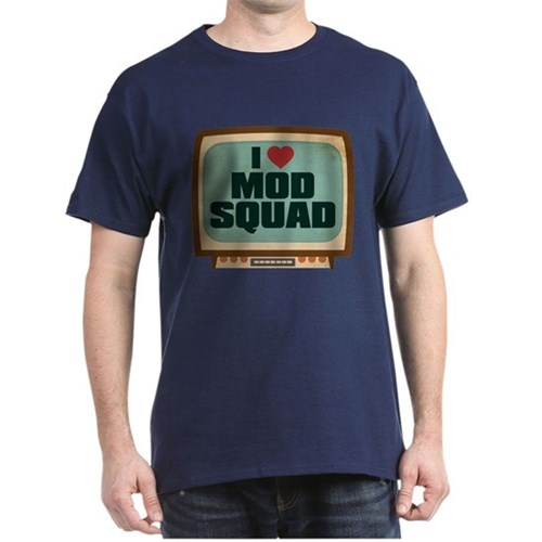 Retro I Heart Mod Squad Dark T-Shirt