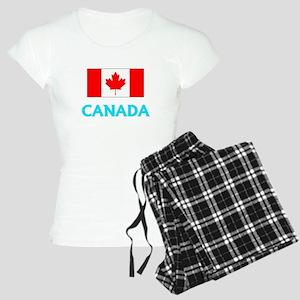 Canada Flag Classic Blue Design Pajamas