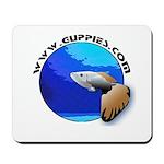 Guppies.com GuppyBot Mousepad
