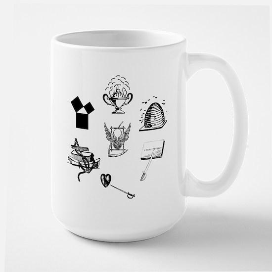 Master Mason Emblems No. 1 Large Mug