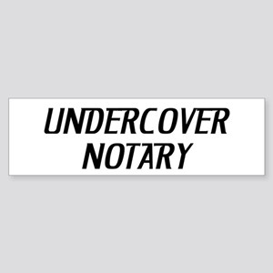 Undercover Notary