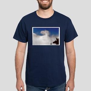 Angel Cloud Blessing Dark T-Shirt