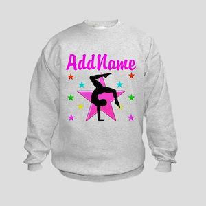 GYMNAST GIRL Kids Sweatshirt