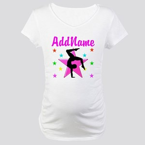 GYMNAST GIRL Maternity T-Shirt